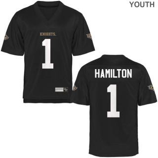 Youth  Game Black UCF Knights Alumni Jersey | Jawon Hamilton
